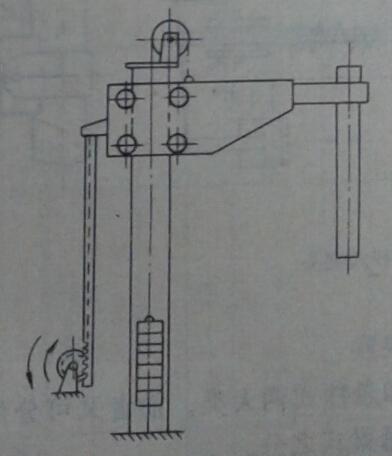 电极升降机械应满足如下要求:          ①机构简单可靠,操作维修方便