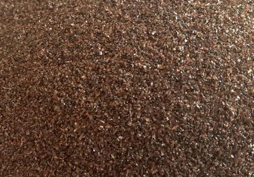 棕刚玉对辊砂