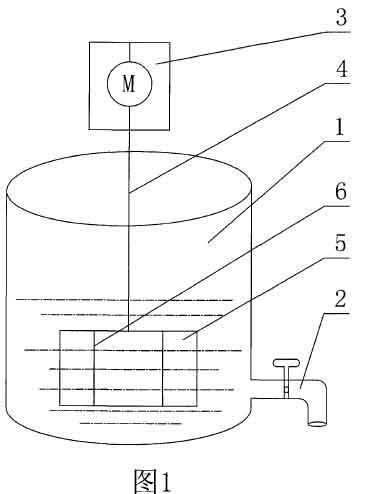 金刚砂搅拌器结构示意图